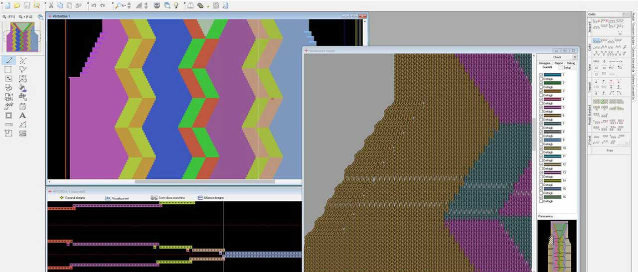 Logica Knitting System Logica Srl Software And Automation For